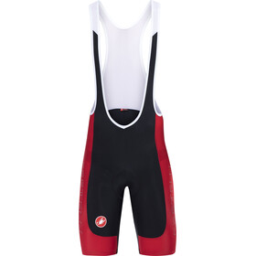 Castelli Evoluzione 2 Bib Shorts Men red/black